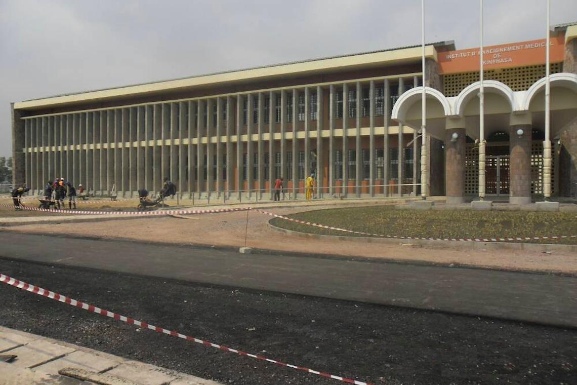 Institut d'Enseignement Médical de Kinshasa - Réalisations