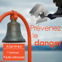 Alarmes antivol et anti-intrusion